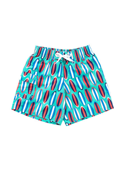 Wholesale Boutique Monogrammed Surfboard Swim Trunks