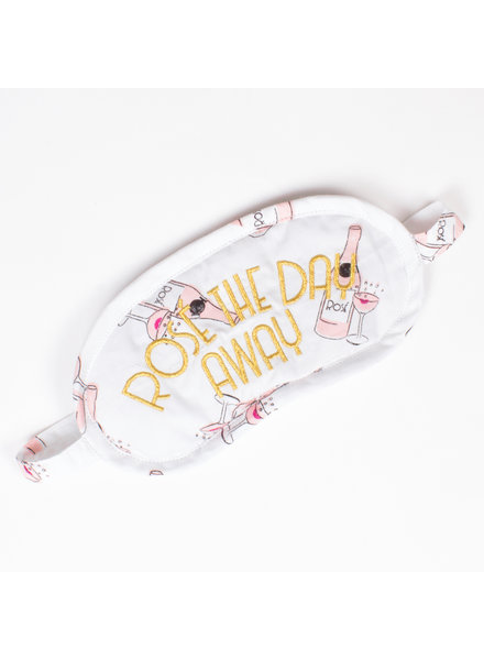 8 Oak Lane Rose The Day Away Sleep Mask