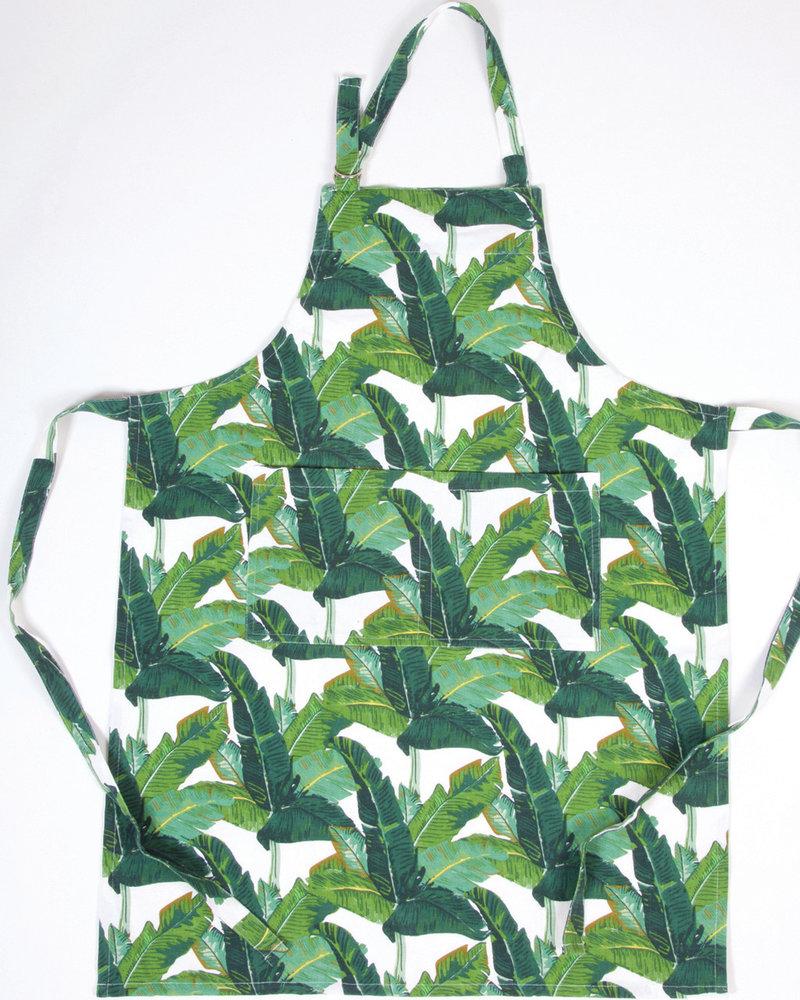8 Oak Lane Personalized Palm Leaf Apron