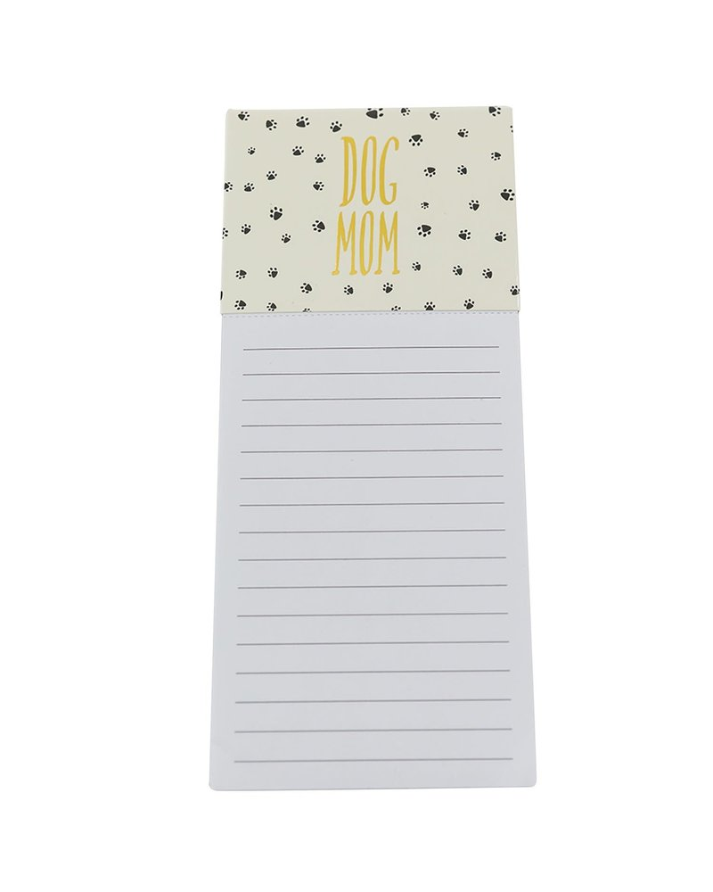 Mary Square Dog Mom Magnetic Notepad