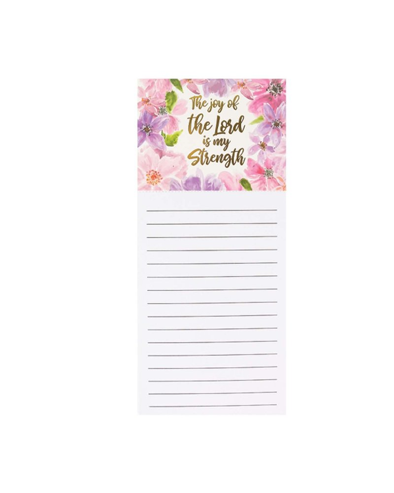 Mary Square The Joy of the Lord Magnetic Notepad