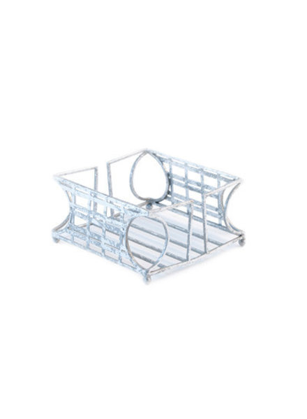 Boston International Silver Cocktail Napkin Caddy