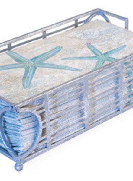 Boston International Silver Guest Towel Caddy