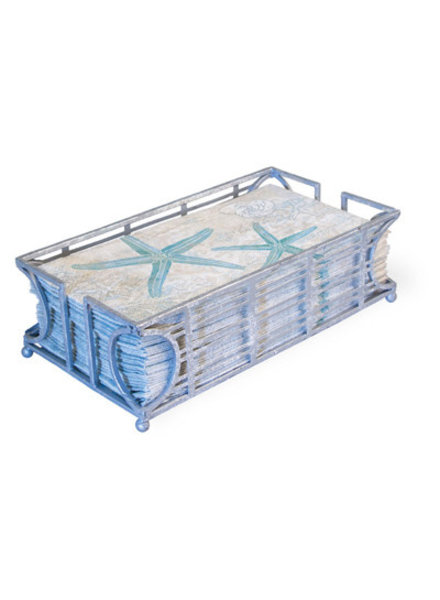 Boston International Silver Guest Towel Caddy