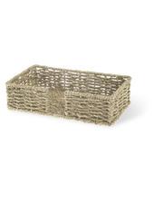 Boston International Seagrass Guest Towel Caddy