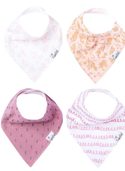 Copper Pearl Lola Bandana Bib Set