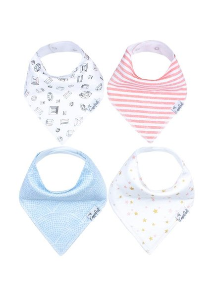 Copper Pearl Isla Bandana Bib Set