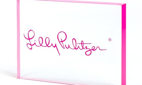 Lilly Pulitzer Stationary, Home Decor, Travel & Accessories