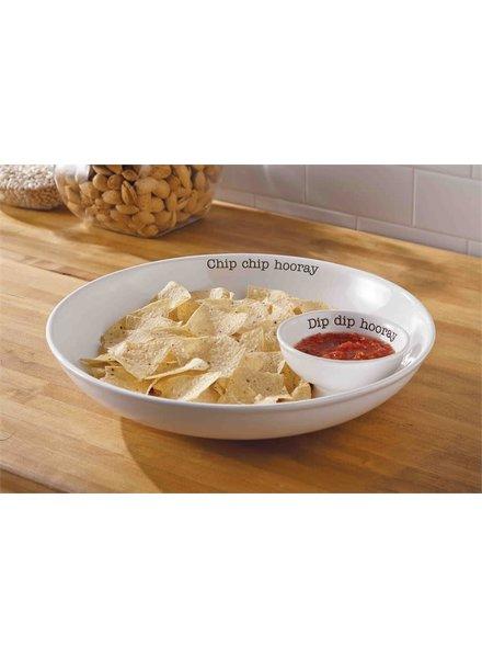 Mudpie Hooray Chip & Dip Set