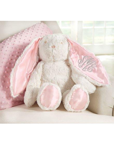 Mudpie Monogrammed Bunny - Pink or Blue
