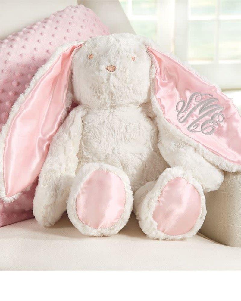 Mudpie Monogrammed Plush Bunny