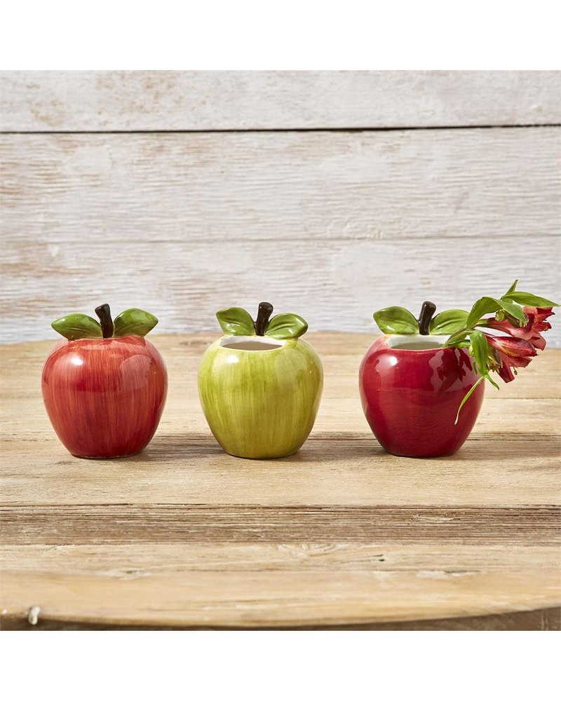 Two's Company Two's Company Apple Vase