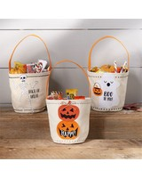 Mudpie Personalized Trick or Treat Bags