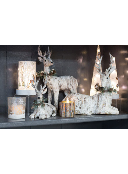 Boston International Holiday Bark Deer - 2 Options