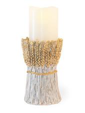 Boston International Wheat Pillar Candle Holder