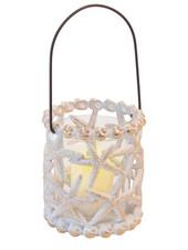 Boston International Shell Lantern Candle Holder