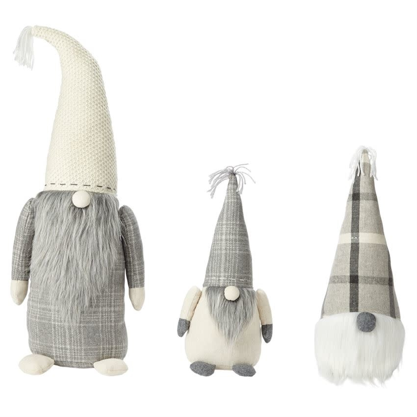 Christmas Gnomes.Mudpie Neutral Christmas Gnomes 3 Sizes