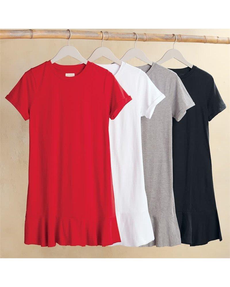 Mudpie Poppy Red Hope T-Shirt Dress