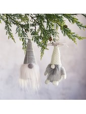 Mudpie Neutral Gnome Ornaments