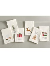 Mudpie Funny Christmas Tea Towel - 6 Options