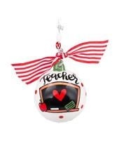 Glory Haus Personalized Teacher Ornament