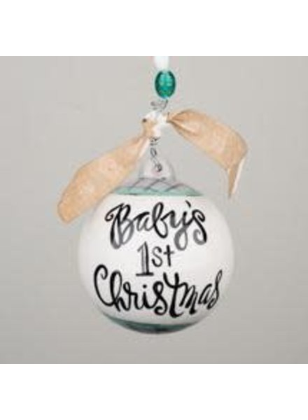 Glory Haus Personalized Baby's 1st Christmas Ornament