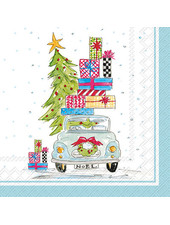 Boston International Christmas Tree Cocktail & Guest Napkins