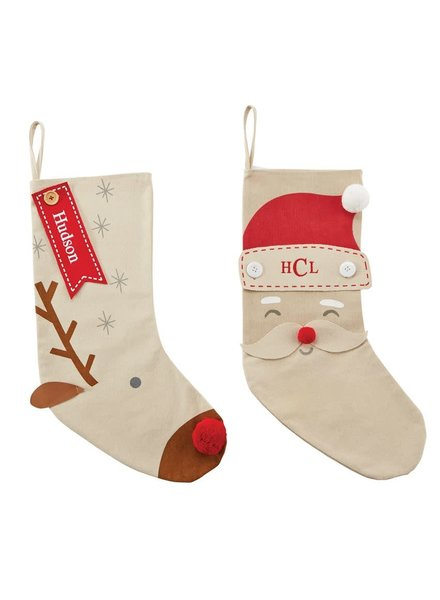 Mudpie Personalized Christmas Stockings
