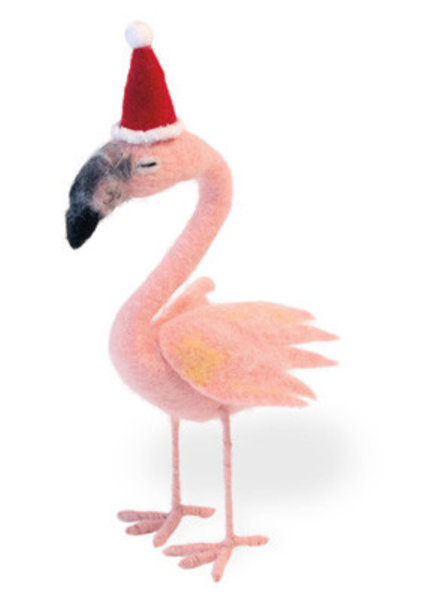Boston International Flamingo Santa