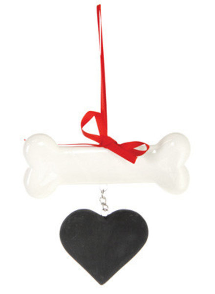 Boston International Personalized Dog Bone Ornament
