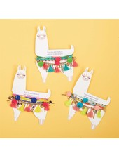 Two's Company Llama Love Bracelet Set
