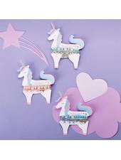 Two's Company Unicorn Bracelet Set - 3 Color Options