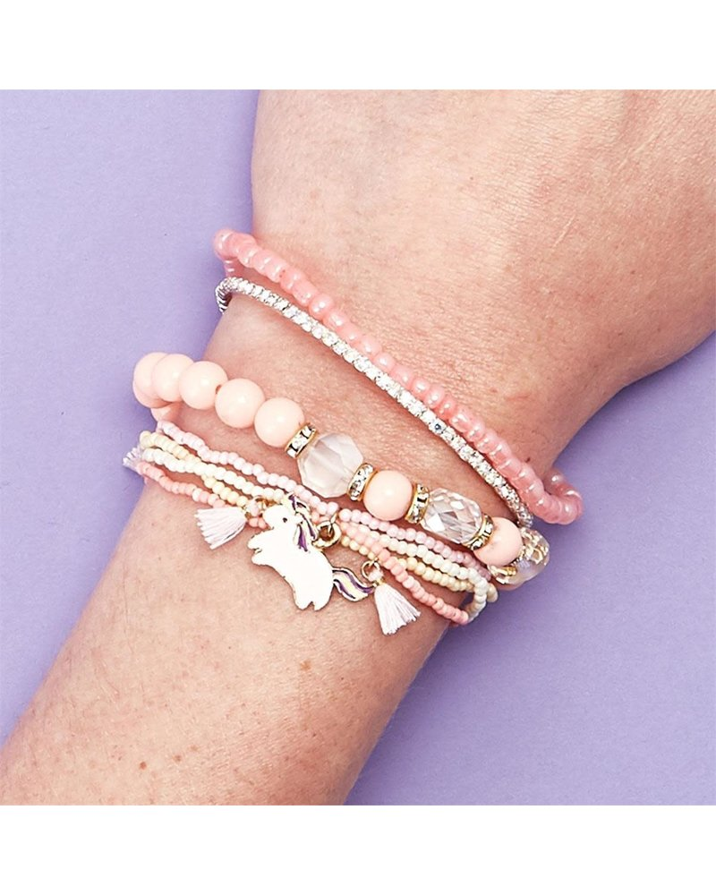 Two's Company Two's Company Unicorn Bracelet Set -
