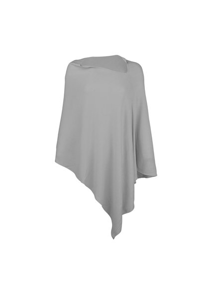 Wholesale Boutique Monogrammed Grey Poncho