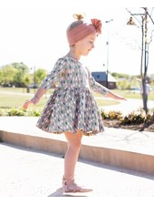 Ruffle Butts Brushed Confetti Twirl Dress
