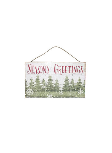 Personalized Season's Greetings Sign