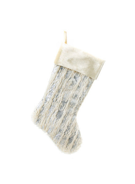 Textured Snow Stocking