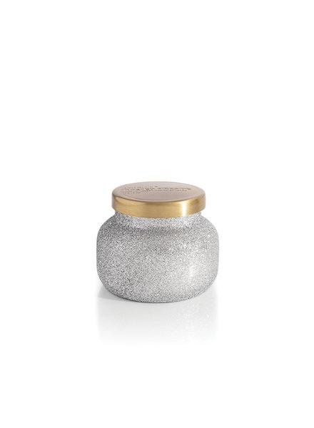 Capri Blue Frosted Fireside Petite Glitter Jar