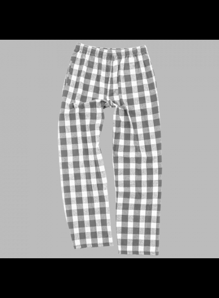 Boxercraft Youth Grey Plaid Pajama Pants