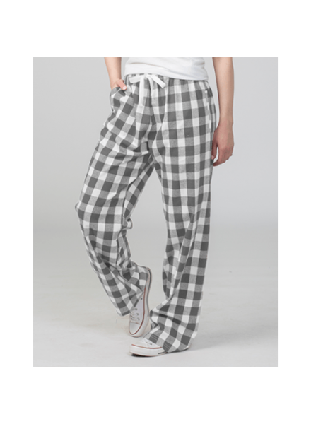 Boxercraft Grey Buffalo Plaid Pajama Pants