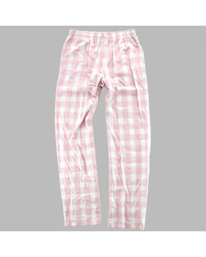 Boxercraft Youth Pink Plaid Pajama Pants