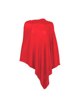 Wholesale Boutique Red Monogrammed Poncho