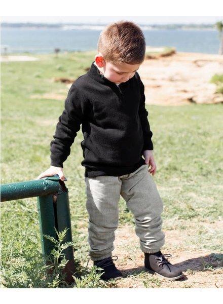 Boys Charcoal Jogger Pants