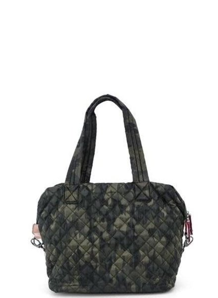 Camo Quilted Tote