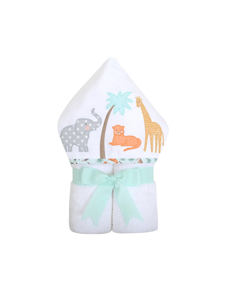 3 Marthas Personalized Safari Hooded Towel
