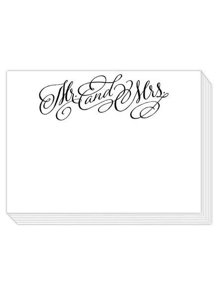 Roseanne Beck Mr. & Mrs. Notepad