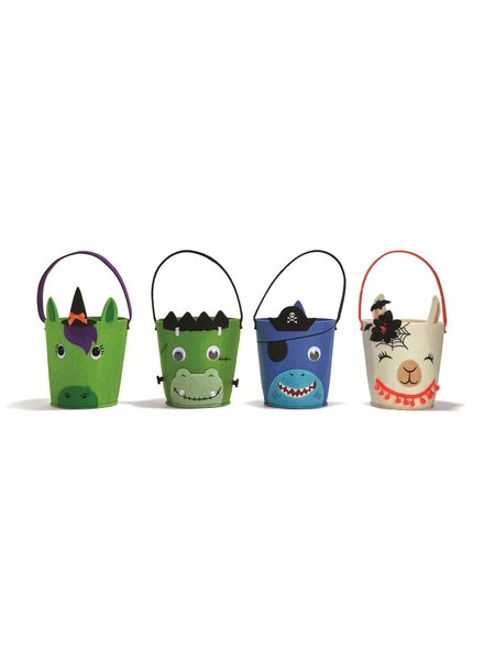 Two's Company Trick-or-Treat Basket - 4 Character Options