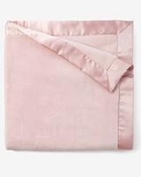 Elegant Baby Monogrammed Light Pink Fleece Blanket
