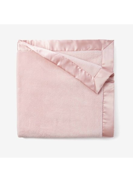 Elegant Baby Monogrammed Light Pink Fleece Blanket
