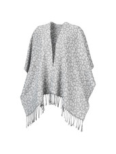 Wholesale Boutique Smokey Grey Leopard Shawl